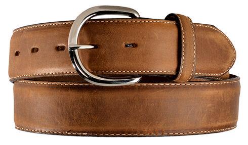Cody James Basic Western Leather Belt, Brown, hi-res