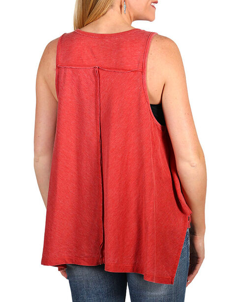 Z Supply Women's Roam With Me Tank Top, Red, hi-res