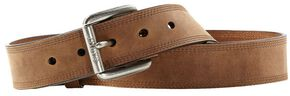 Ariat Distressed Basic Leather Belt, Earth, hi-res