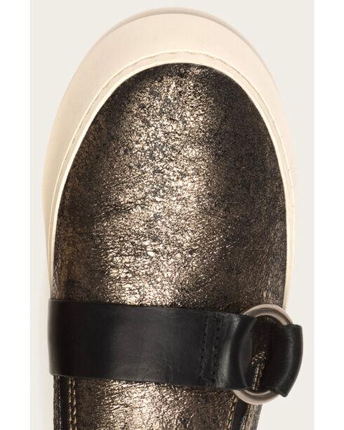 Frye Women's Gunmetal Lena Harness Slip-On Shoes , Dark Grey, hi-res