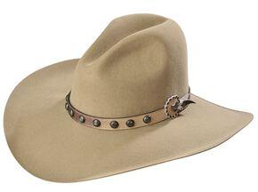 Stetson 3X Broken Bow Buffalo Cowboy Hat, Buck Tan, hi-res