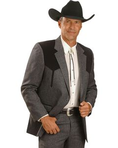 Circle S Boise Western Suit Coat - Short, Reg, Tall, , hi-res