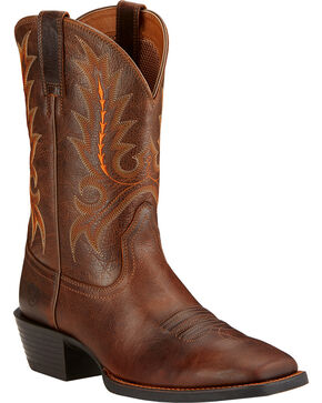 Ariat Men's Sport Outfitter Boots - Square Toe, Wicker, hi-res