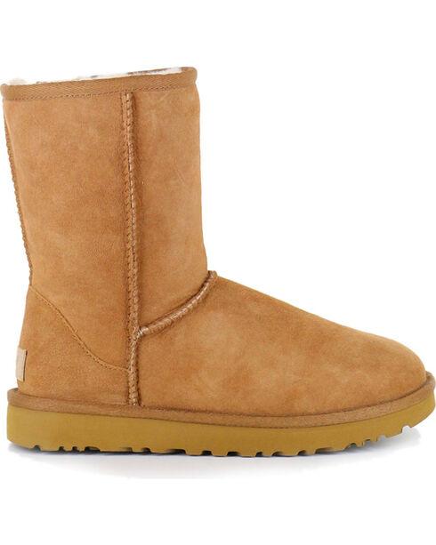 UGG® Women's Chestnut Classic II Short Boots, Chestnut, hi-res