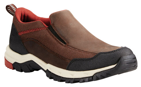 Ariat Men's Chocolate Skyline Slip-Ons, Chocolate, hi-res