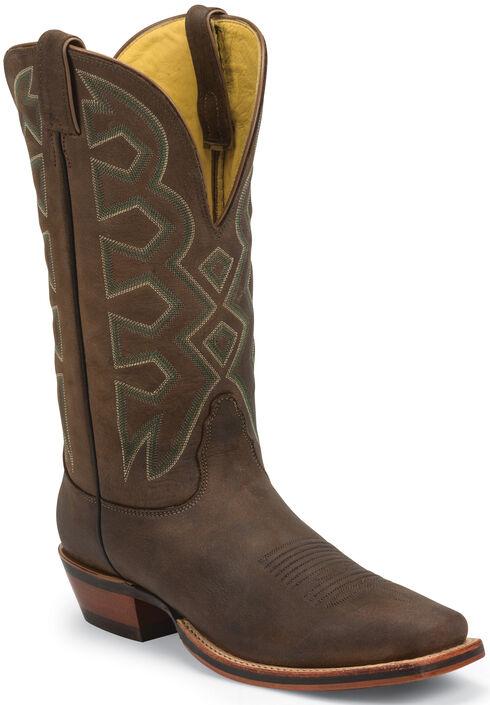 Nocona Sandlot Prosper Buffalo Let's Rodeo Western Boots - Square Toe , , hi-res
