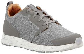 Ariat Women's Grey Suede Fusion Athletic Shoes, Grey, hi-res