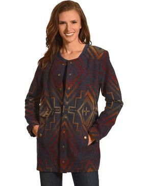 Pendleton Women's Sunrise Snap Jacket , Grey, hi-res