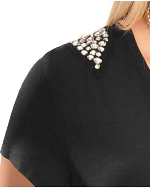Wrangler Rock 47 Studded Black Top, Black, hi-res