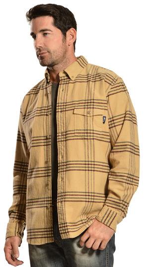 Woolrich Tiadaghton Tan Plaid Shirt, Tan, hi-res
