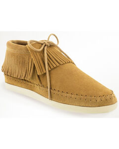 Minnetonka Women's Venice Lace-Up Moccasins, , hi-res