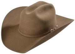 Justin 8X Fur Felt Mustang Cowboy Hat, , hi-res