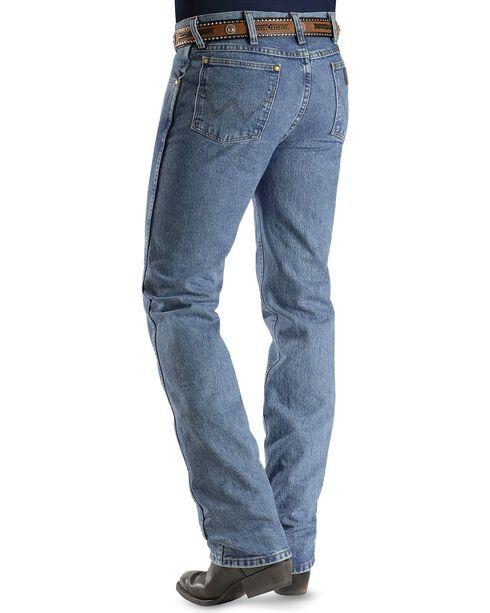 Wrangler Jeans - Cowboy Cut 36MWZ Slim Fit Jeans Stonewash, Stonewash, hi-res