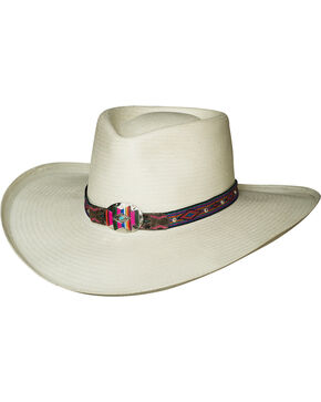 Bullhide Women's Natural All The Best Straw Hat , Natural, hi-res