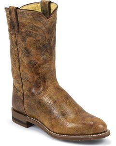 Justin Tan Road Roper Cowboy Boots, , hi-res