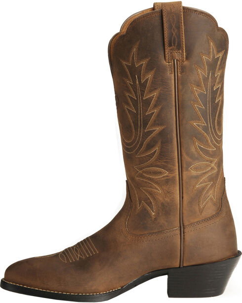 Ariat Heritage Cowgirl Boots - Medium Toe, Distressed, hi-res
