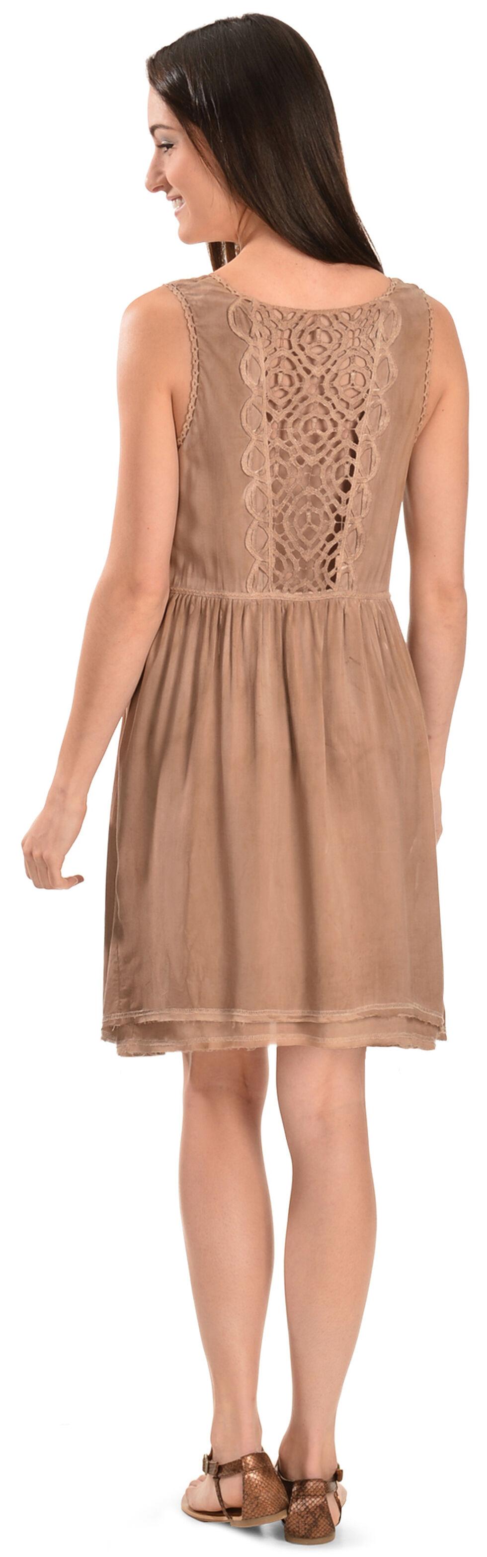 Black Swan Victoria Dress, Taupe, hi-res