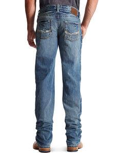 Ariat Men's M5 Gambler Low Rise Straight Leg Jeans, Indigo, hi-res