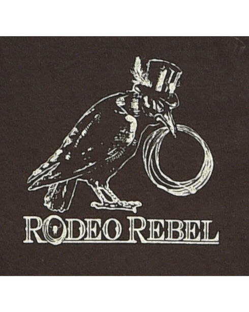 Rodeo Rebel Men's Whiskey Bent Graphic T-Shirt, Black, hi-res