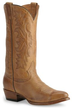 Stetson Hand-burnished Ficcini Cowboy Boots - Round Toe, , hi-res