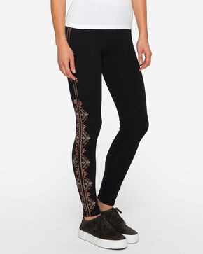 Johnny Was Women's Aspen Leggings , Black, hi-res