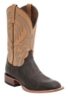 Lucchese Handcrafted 1883 Alan Smooth Cowboy Boots - Square Toe, , hi-res