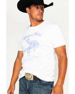 Cody James Men's Western Wear Screen Printed T-Shirt, White, hi-res