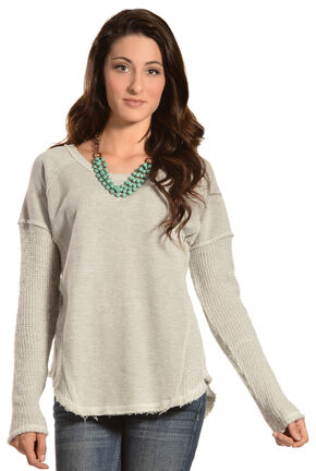 White Crow Women's Dark Angel Top, Grey, hi-res
