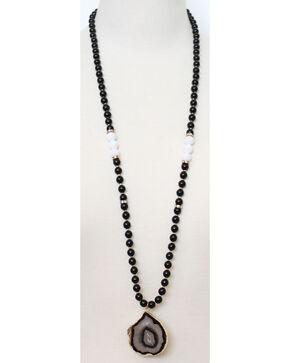 Everlasting Joy Women's Rockies Necklace, Black, hi-res