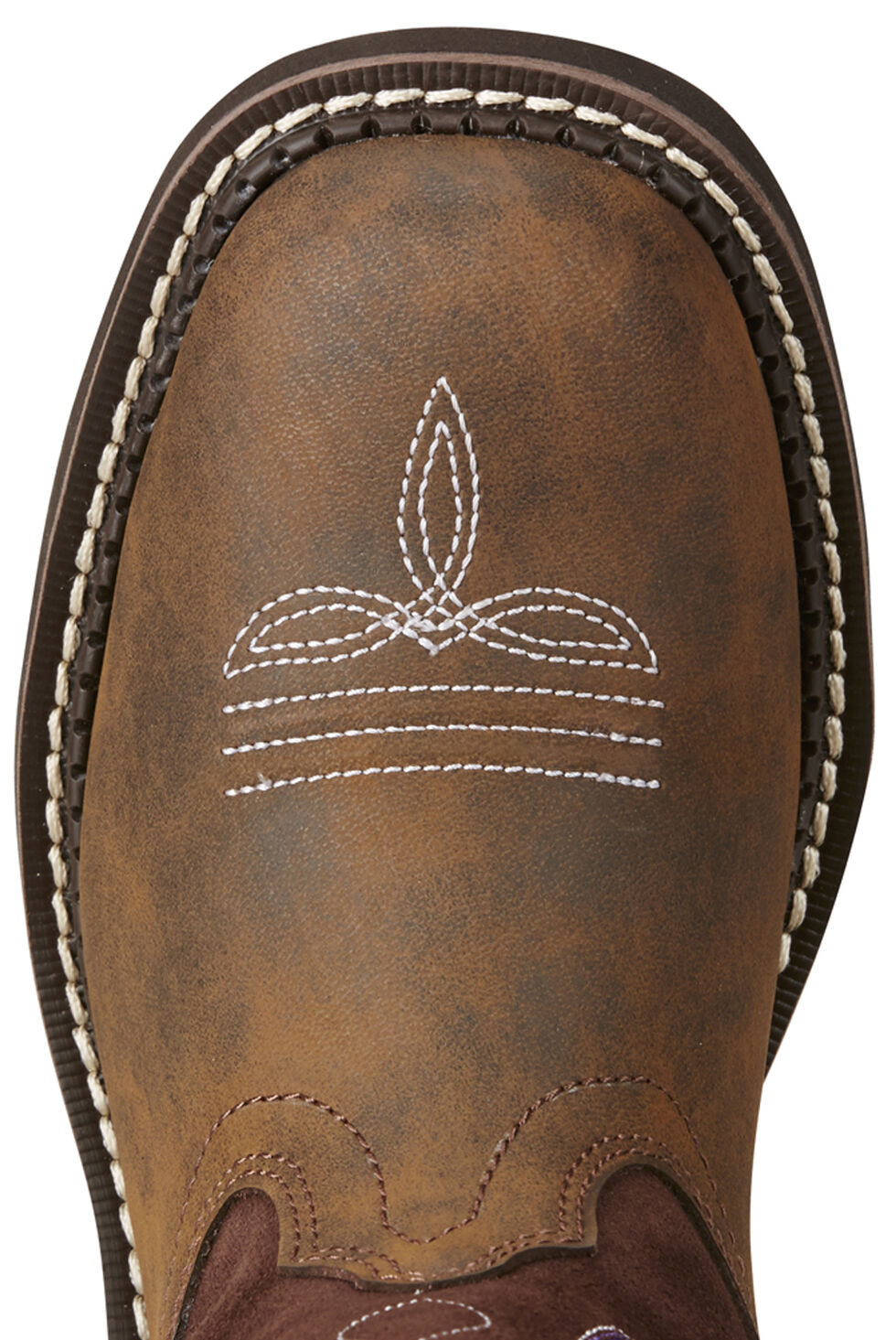 Ariat Women's Charlotte Boots - Round Toe, Brown, hi-res