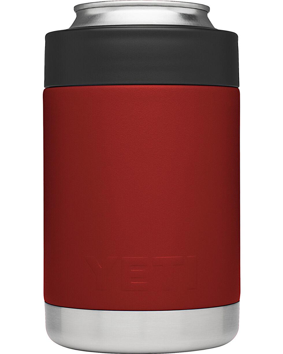 Yeti Brick Red Rambler Colster , Red, hi-res