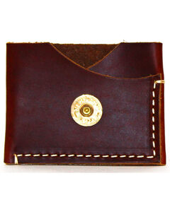 SouthLife Supply Men's Jefferson Brick Leather Card Holder, Mahogany, hi-res