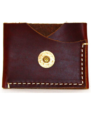 SouthLife Supply Men's Jefferson Brick Leather Card Holder, Mahogany, hi-res