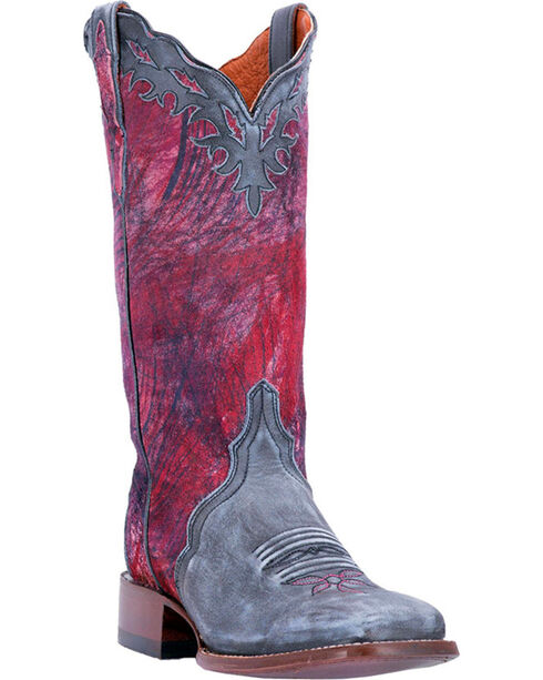 Dan Post Women's Pink Margie Western Boots - Square Toe , , hi-res