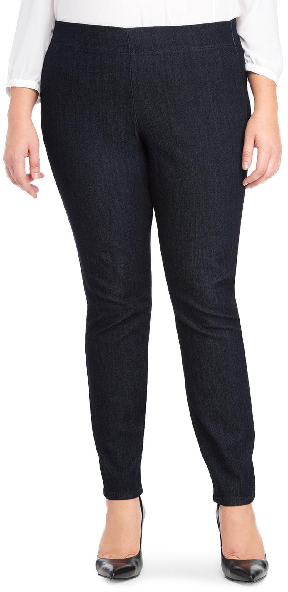 NYDJ Women's Poppy Pull-On Legging Jeans - Plus Size, Indigo, hi-res