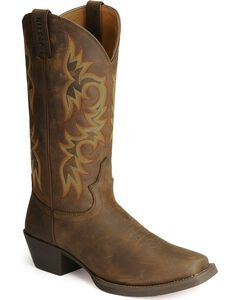 Justin Stampede Western Apache Cowboy Boots - Square Toe, , hi-res