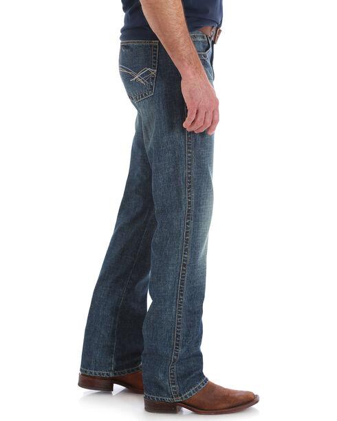 Wrangler 20X Men's No. 42 Stampede Vintage Slim Jeans - Boot Cut, Indigo, hi-res