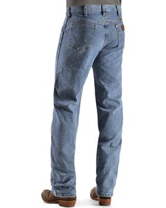 Wrangler Premium Performance Advanced Comfort Stone Beach Jeans - Big & Tall, Light Stone, hi-res