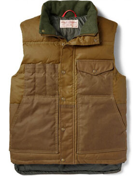 Filson Men's Down Cruiser Vest, Tan, hi-res