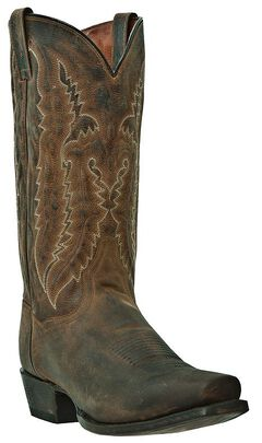 Dan Post Earp Cowboy Boots - Square Toe, , hi-res