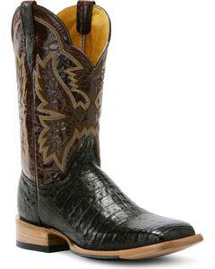 Cinch Classic Mica Caiman Cowboy Boots - Square Toe, , hi-res