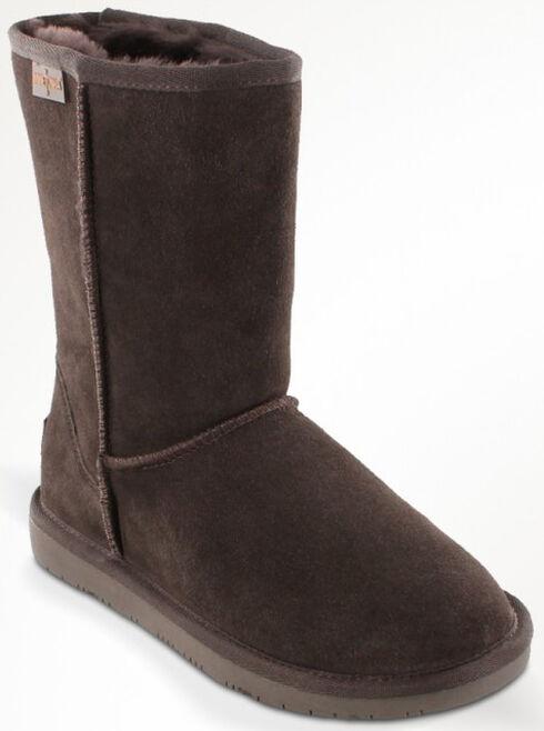 Minnetonka Women's Olympia Boots, Chocolate, hi-res