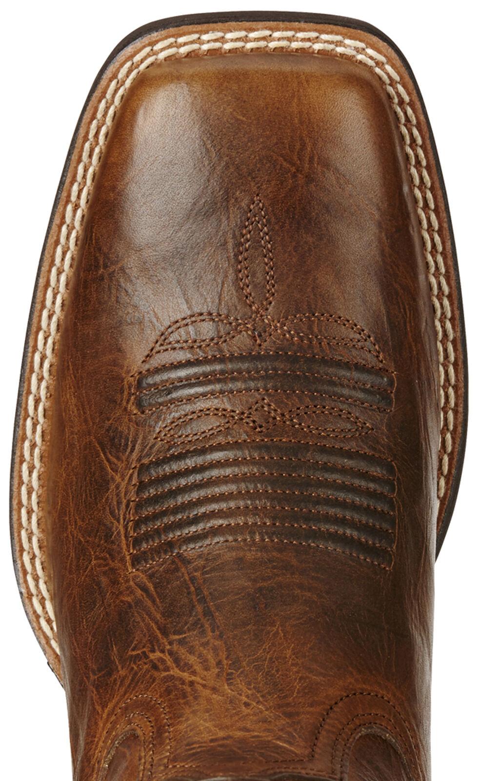 Ariat Brown Women's Quickdraw Venttek Boots - Wide Square Toe , Brown, hi-res