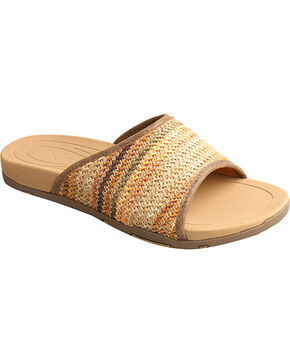 Twisted X Women's Woven Slide Sandal, Multi, hi-res