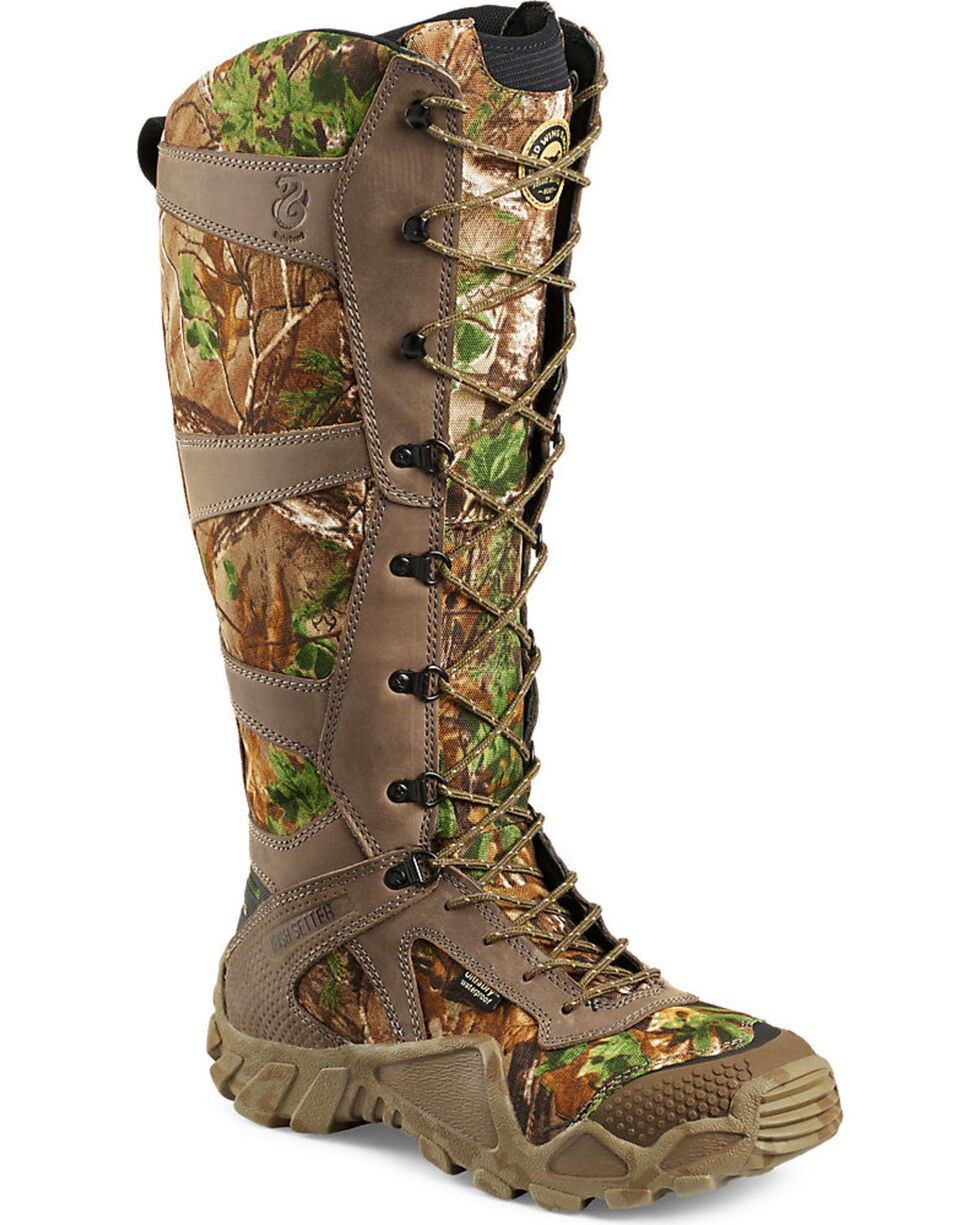 """Irish Setter by Red Wing Shoes Men's 17"""" Vaprtrek Realtree Xtra Snake Boots, Camouflage, hi-res"""