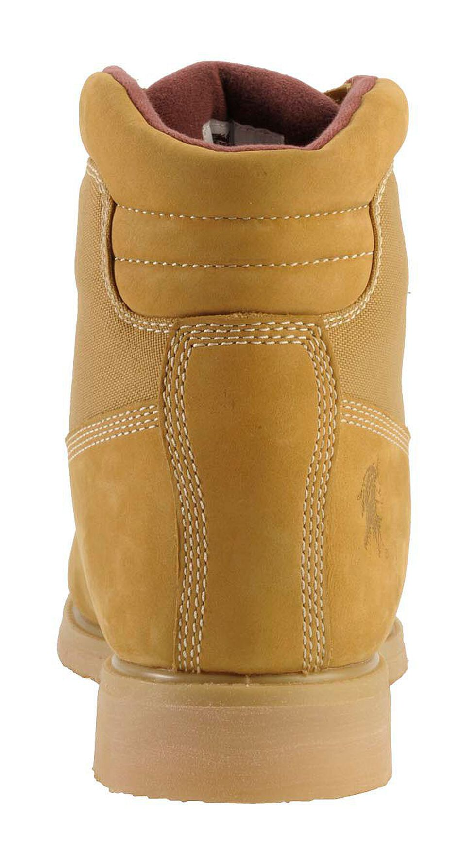 """Chippewa Waterproof & Insulated Nubuc 6"""" Lace-Up Work Boots - Round Toe, Golden Tan, hi-res"""