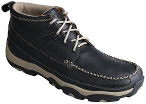 Twisted X Men's Softy Black Hiker Boots , Black, hi-res