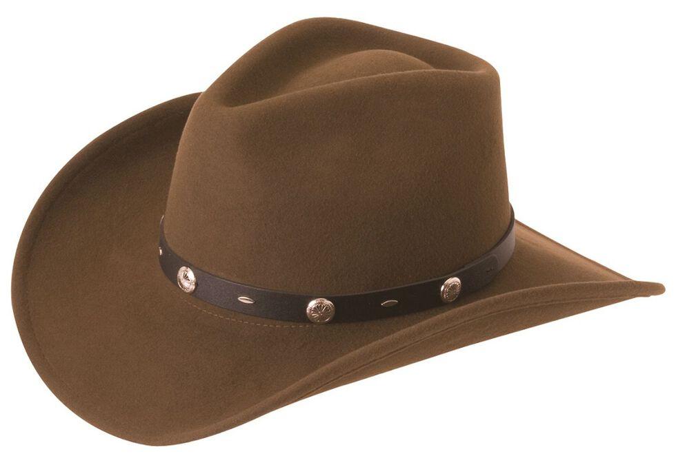 Silverado Crushable Wool Felt Hat, Serpent, hi-res