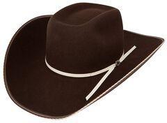 Resistol 4X Tuff Hedeman Snake Eyes Felt Cowboy Hat, , hi-res