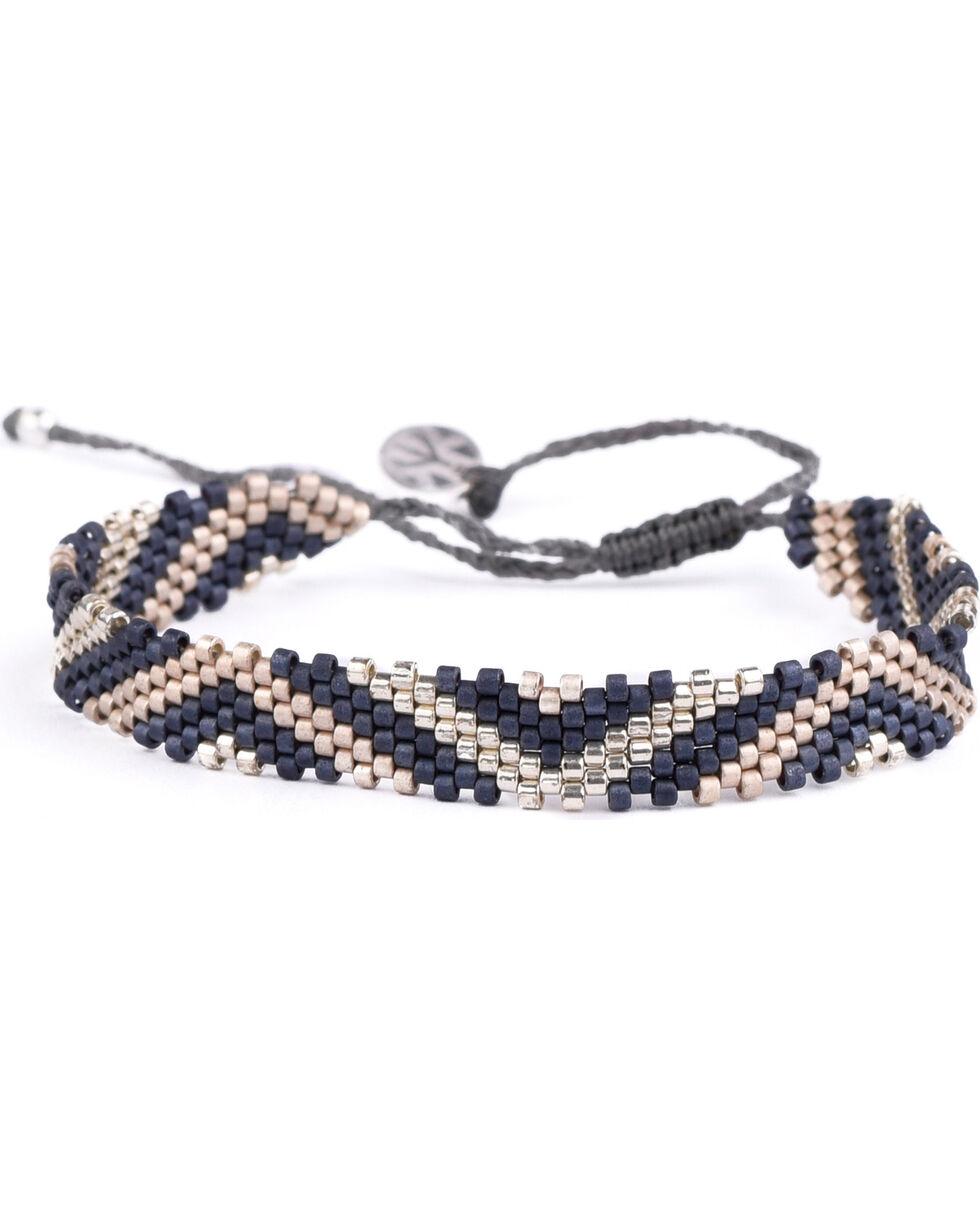 Kutula Kiss Women's Indigo Small TE Tango Bracelet , Indigo, hi-res